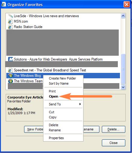 organize-favorites-window-ie-8-screenshot
