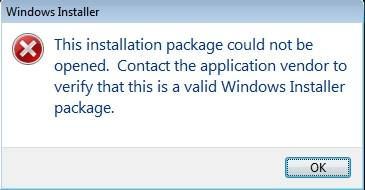 Error Installing Cyanogen Windows