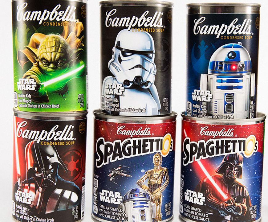star wars soup cans