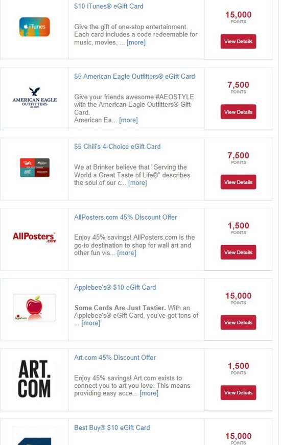 best kelloggs rewards offers