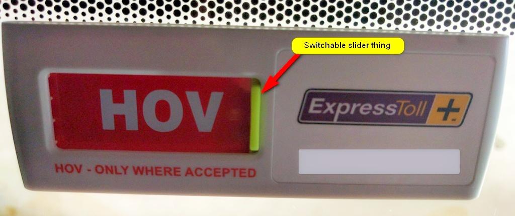 free switchable pass express toll carpool lanes cdot