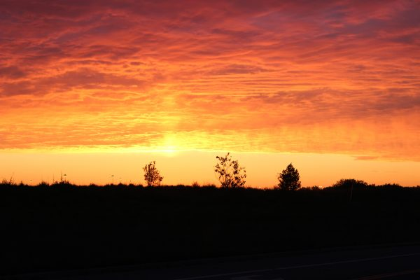denver colorado sunrise august